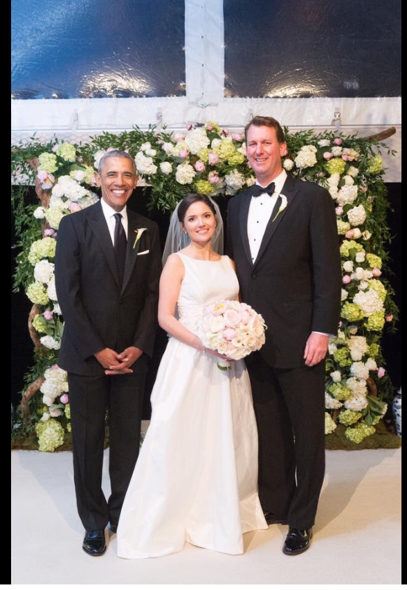 Coolest President Ever! Beautiful Photos Of President Barrack Obama Serving As A Grooms Man Over The Weekend