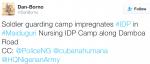 Randy Soldier reportedly Impregnates Woman In Maiduguri IDP Camp