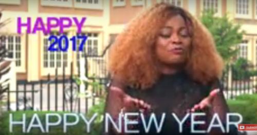 Funke Akindele Appreciates Fans Of 'Jenifa Dairies' In New Year Message [Watch]