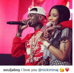Soulja Boy Hounds Nicki Minaj On Instagram, Professes Love To Her!