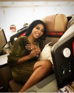 Newlyweds, Stephanie Coker & Olumide Aderinokun Jet Off On Romantic Honeymoon [Photos]
