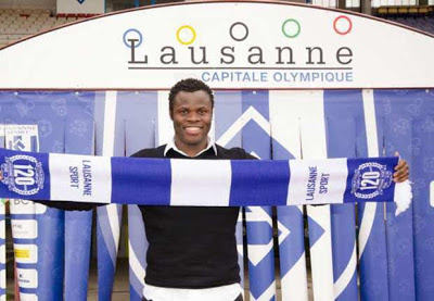 OFFICIAL: Taye Taiwo Joins Swiss Club [Photos]