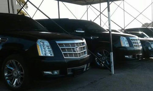 PHOTOS: See The luxury Vehicles Yahya Jammeh Stole From Gambia