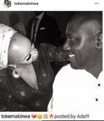 Toke Makinwa Shares Cute Picture Of New Lover, Seyi Kuye