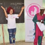 Mixed Reactions Trail Tonto Dikeh's Choice Of Outfit To Abuja  Primary School