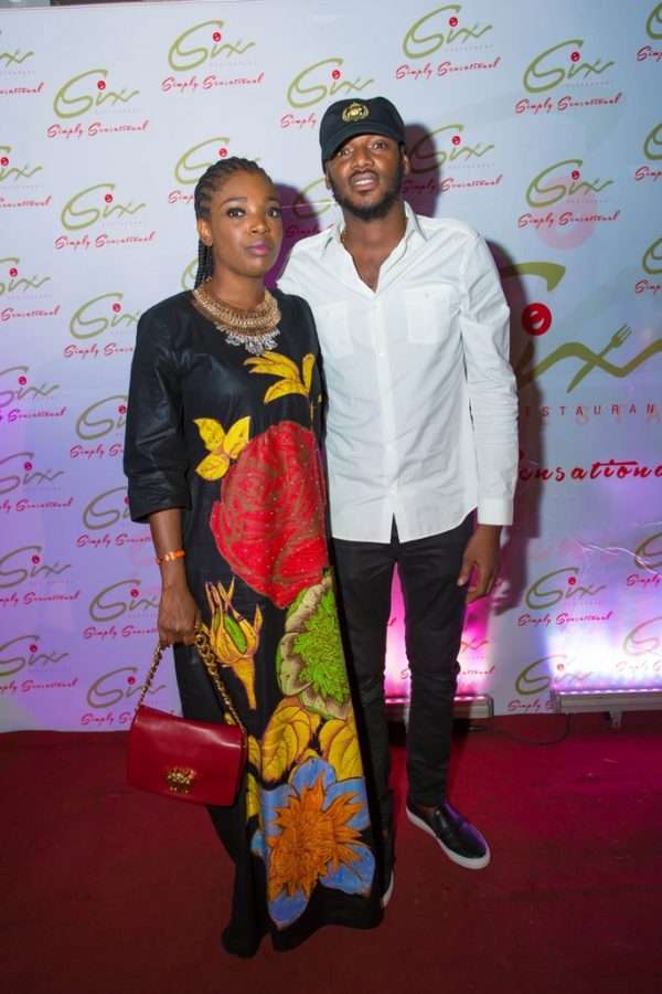 Annie & 2Face Step Out In Style To The Launch Of Shina Peller's New Restaurant