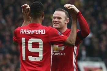 Mourinho Backs Rashford To Beat Rooney's Goal Record