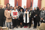Alicia Keys, DJ Jhaled, Rick Ross, Common & More Stars Troop To White House In Honour Of Obama [Photo]
