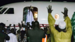 Photos: Yayha Jammeh Proceeds On Imposed Exile
