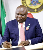 Photos: Ambode Signs 2017 Budget Into Law