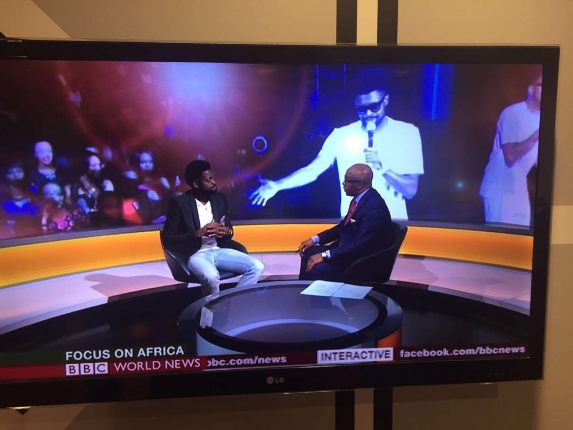 Ace Comedian, Basketmouth Earns First Major Interview On BBC World News!