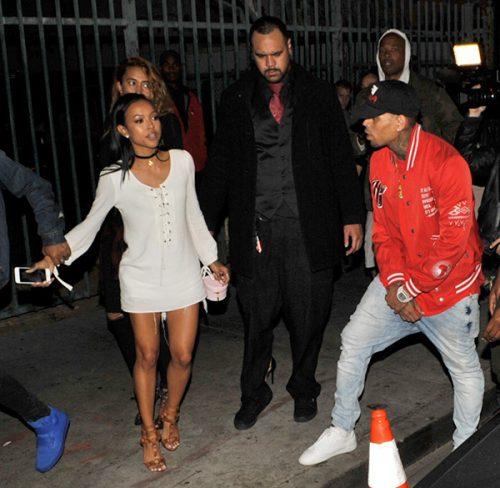 Chris Brown & Ex lover, Karruche Tran Exchange Vicious Words As Instagram Feud Continues
