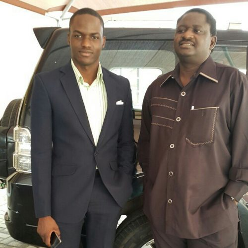 Young And Getting It! Meet Femi Adesina's Son Who Is A  Pilot With Arik Air