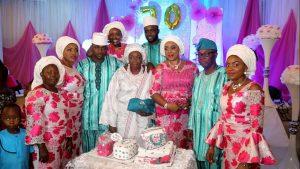 Lagos State Police PRO Dolapo Badmos Celebrates Mum At 70 ( Photos)