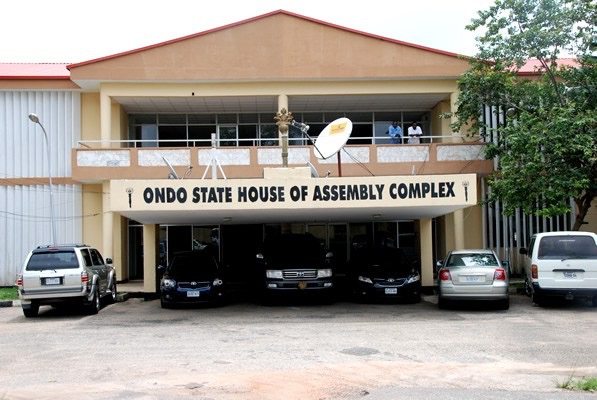 BREAKING: Police Seal Ondo Assembly After Lawmakers Clash