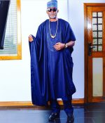 Actor RMD Shares Beautiful Agbada Pic As He Wishes Fans Happy New Year!