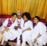 NURTW Boss MC Oluomo Shares Photo Of His Three Beautiful Wives