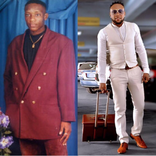 Lmao! See Epic Throwback Pic Of Singer Kcee Wearing A 'Coat'