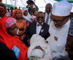 Photo: President Buhari Receives Baby Boy Names After Him