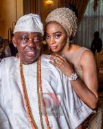 Renown Nigerian Industrialist Chief Abdulrasaq  Okoya Pictured With Wife Shade As He Celebrates 77th Birthday
