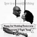 Singer Omawumi And Husband Toyin Yusuf Celebrate 2nd Wedding Anniversary