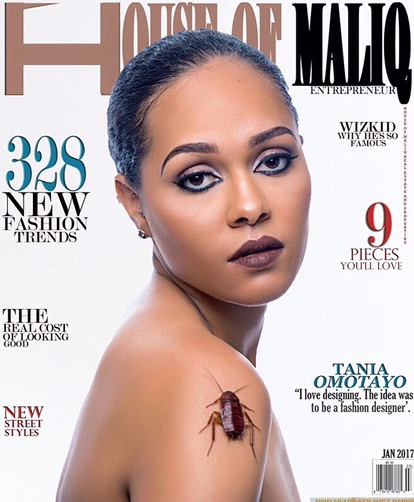 House Of Maliq Magazine Releases Its January 2017 Issue Featuring Tania Omotayo And Chioma Akpotha
