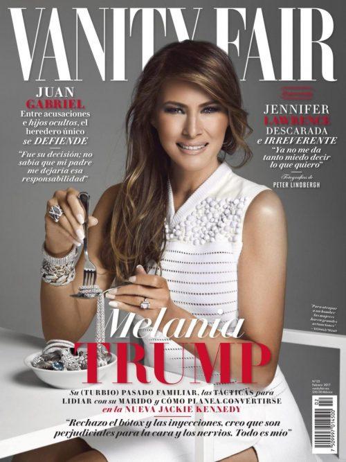 Melania Trump Covers Mexico's Vanity Fair Magazine