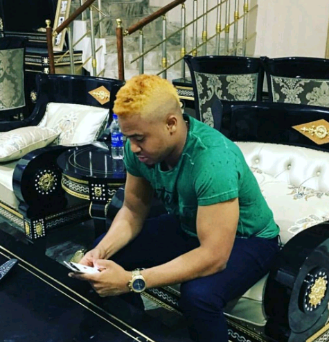 Nolllywood Actor, Mike Godson Debuts New Blond Look [Photos]