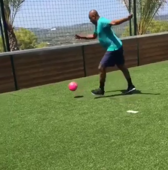 Must Watch! This Clip Of An Energetic Bukola Saraki Playing Football Is Everything! [Video]