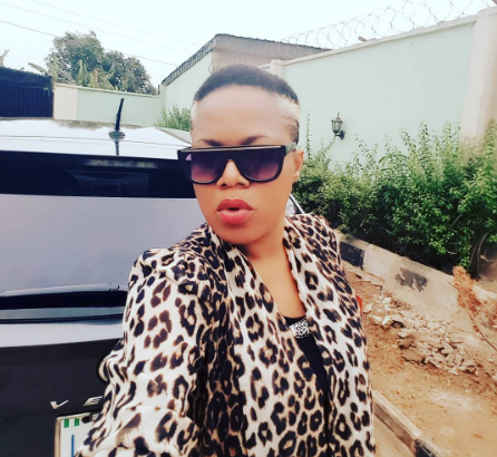 Like it? Toyin Aimakhu Debuts New Blond Haircut [Photo]
