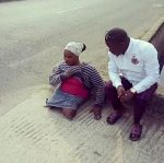 "'He Deceived Me"" – Roadside Crippled Woman Who Was Supposedly Helped By Olukokun Cries Out, Says He Pulled A Social Media Stunt"