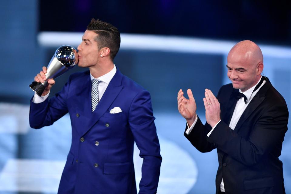 Cristiano Ronaldo Beats Messi Again To Win FIFA Best Player Award