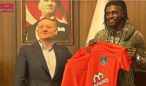 Emmanuel Adebayor Joins Turkish Side, Istanbul Basaksehir