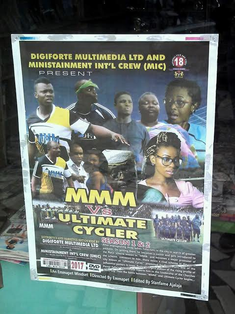They Are It Again! Just Look At This Ridiculous Nollywood Poster About MMM And Ultimate Cycler