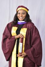 Beauty With Brains!  Meet Stunning Lady Who Graduated From UNILAG With First Class In Economics  [Photos
