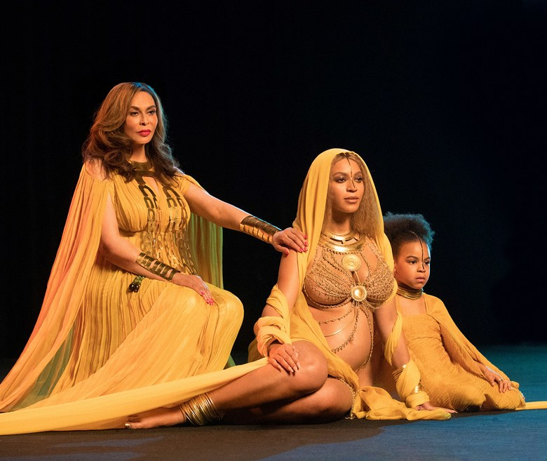 Beyoncé, Tina Knowles & Blue Ivy Reveal Three Generations In Queenly Style