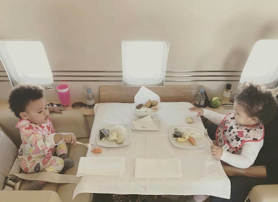 See How Fast Mikel Obi's Twin Girls Have Grown In New Photos
