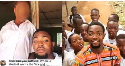NYSC Member Serving In Edo State Brags About Sexual Exploits With Female Secondary School Student [Video]