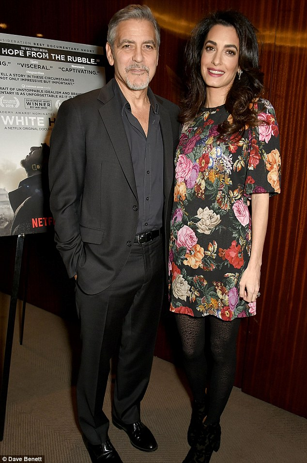 Twins Season: George Clooney And Wife Amal Expecting Baby Boy And Girl
