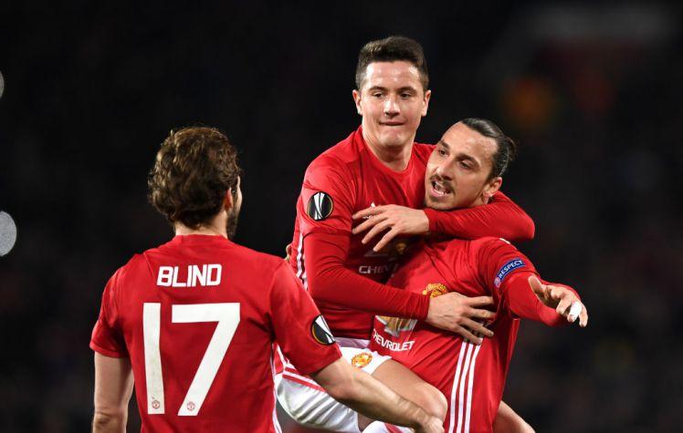 Superb Ibrahimovic Hatrick Puts Manchester United On Cusp Europa League Glory