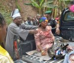 The Heartmelting Moment When a Panic-stricken Governor Amosun Stopped Convoy To Rescue Accident Victims