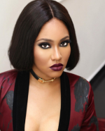 Flavour's Hot Baby mama, Anna Banner Bares Cleavage In Photoshoot