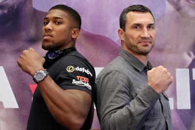 World Champ, Klitschko Says Imminent Showdown With Nigerian-born, Anthony Joshua Is 'Toughest' Of His 12year Career