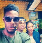 Former #BBNaija Housemates, Soma, Miyonse & Cocoice Hangout Together [Photos]