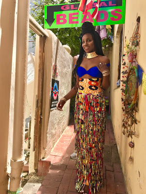 BTS Pictures From Seyi Shay's Latest 'Zulu-Inspired' Video Shoot In Cape Town