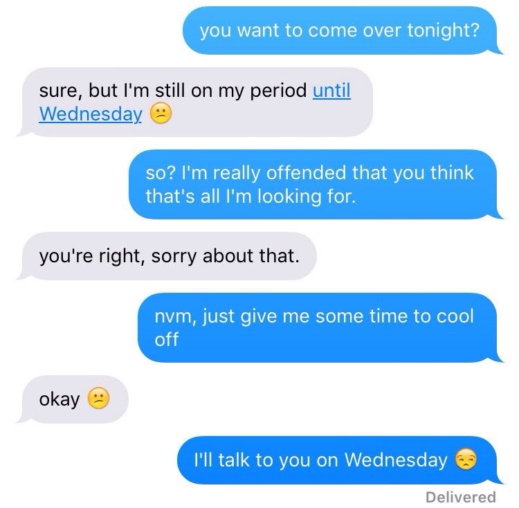 Check Out This Hilarious Convo Between A Girl And Her Supposed Boyfriend
