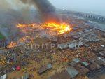 Fire Engulfs Popular Makoko Community In Lagos