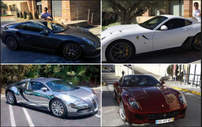 Ronaldo S Car Collection