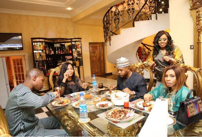 Pictures From Lavish Birthday Bash Held For Five Star Entertainment Boss, E Money