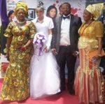 #BBNaija: Gifty's In-Law Blasts Her For Denying Her Marriage, Shares Her Wedding Pictures Online